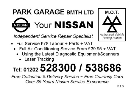 Car Repair Garage Bournemouth